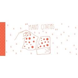 Knygų skirtukų užrašams rinkinys MANO CITATOS