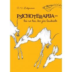 Psichoterapija – tai ne tai, ko jūs laukiate