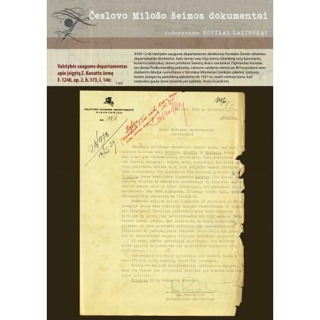 Valstybės saugumo departamentas apie įsigytą Z. Kunatto žemę