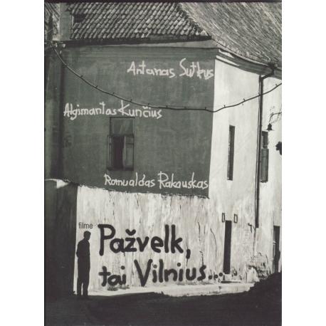 DVD Pažvelk, tai Vilnius (angliški subtitrai)