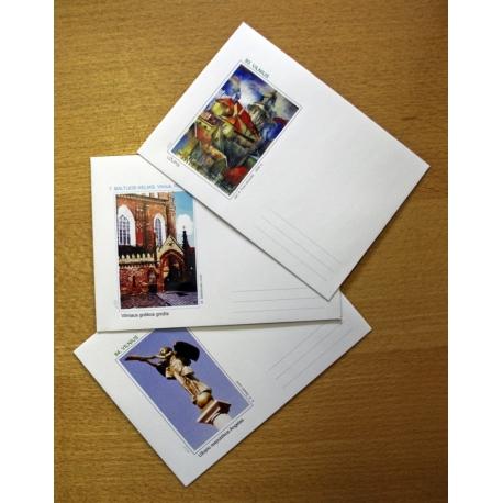 Autoriniai vokai (įvairūs)