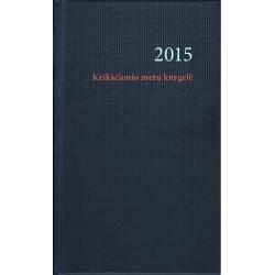 Krikščionio metų knygelė 2015
