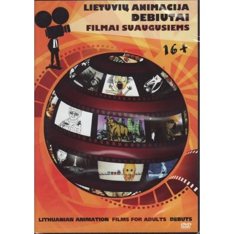 DVD Filmai suaugusiems. Lietuvių animacija - debiutai.