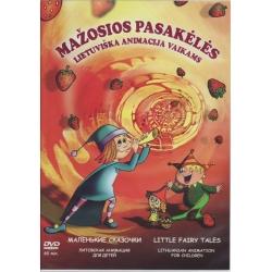DVD Mažosios pasakėlės. Lietuviška animacija vaikams.