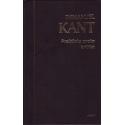 Praktinio proto kritika. Immanuel Kant