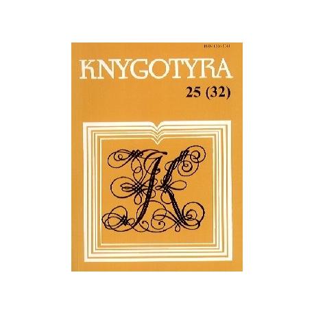 KNYGOTYRA 25(32) TOMAS