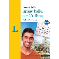 Ispanų kalba per 30 dienų + 3 CD