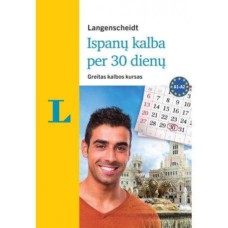 Ispanų kalba per 30 dienų +3 CD