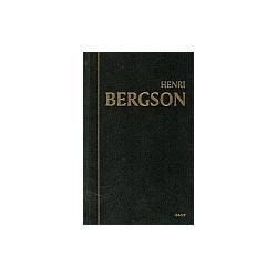 Kūrybinė evoliucija. Henri Bergson