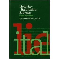 Lietuvių–italų kalbų žodynas. Apie 70.000 žodžių ir posakių.